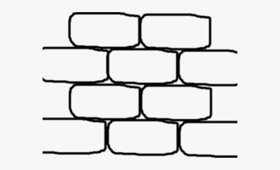 Brick clipart black and white.  huge freebie download