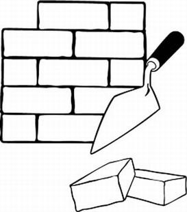 Free cliparts download clip. Brick clipart black and white