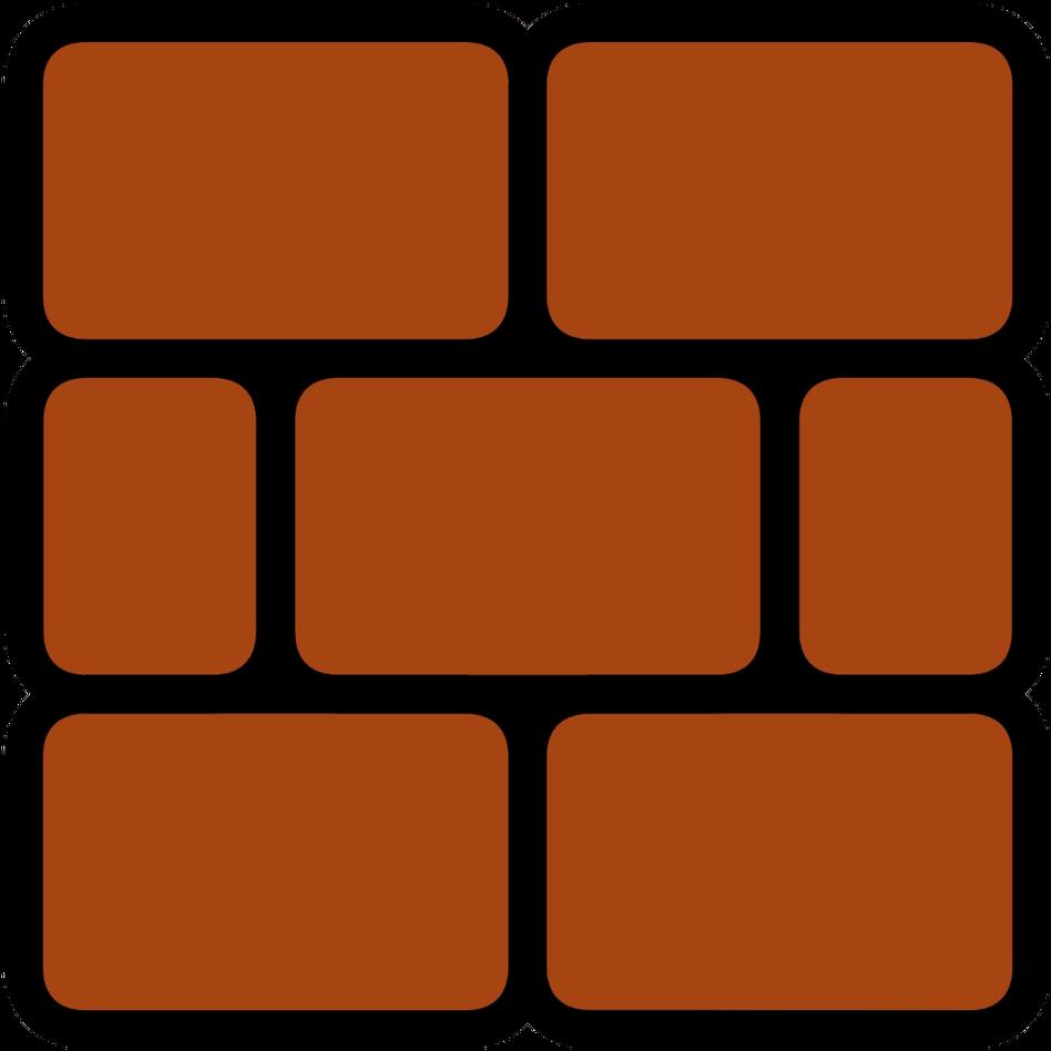 Mario clipart mario block. Brick super d png