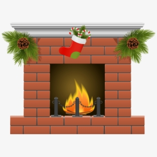 Chimney clipart mantel. Free brick fireplace cliparts