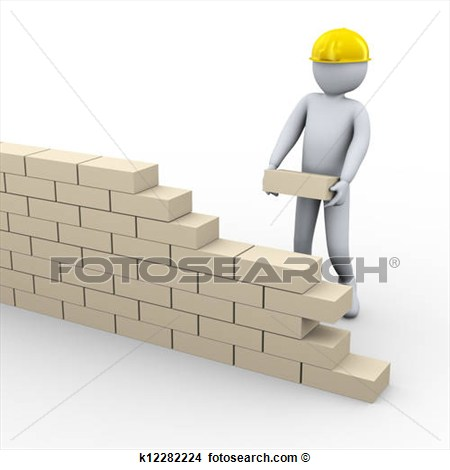 Brick brick foundation