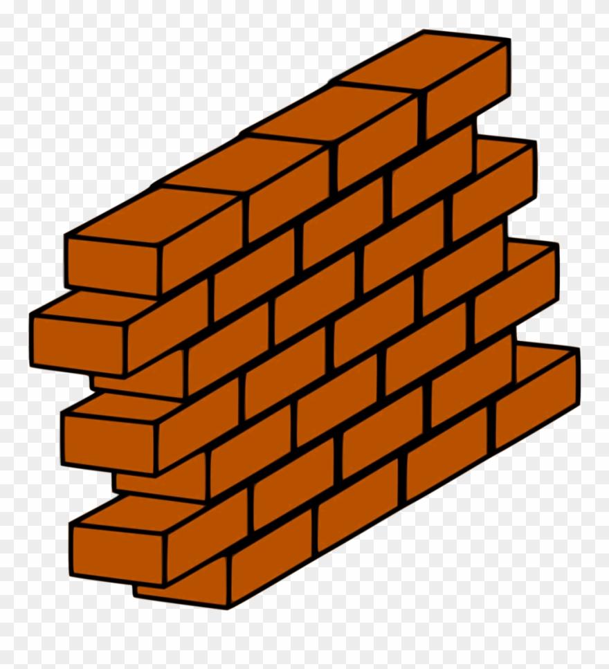 Brick clipart brickwork. Wall clip art png