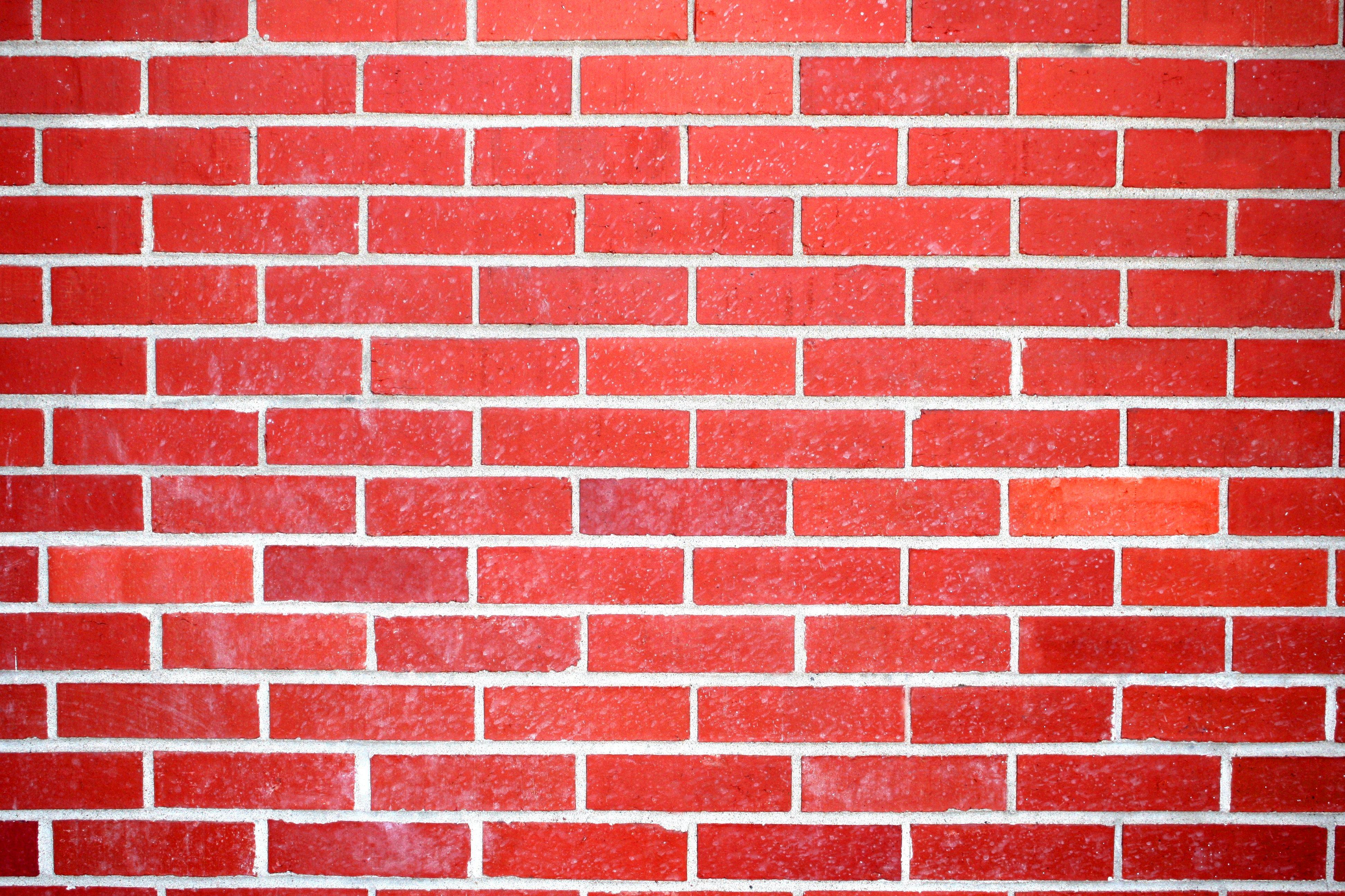 Brick clipart briks. Bright red wall texture