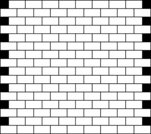 White bricks clip art. Brick clipart briks