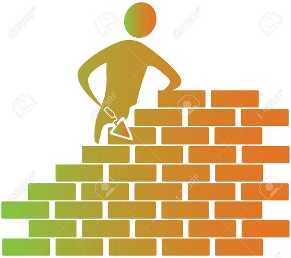 Brick clipart construction brick. Building bricks free images