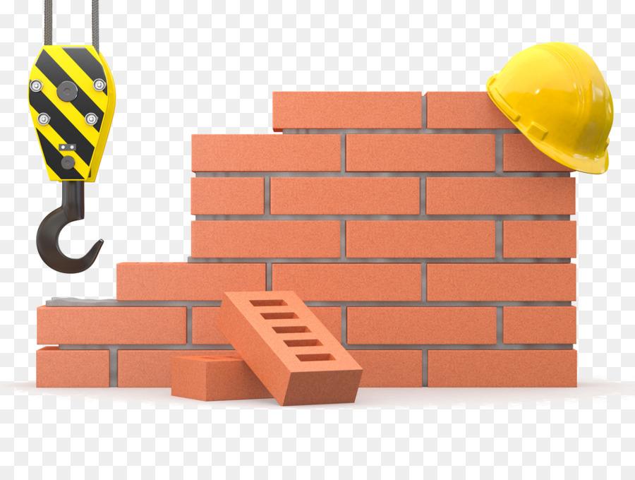 Crane . Brick clipart construction brick