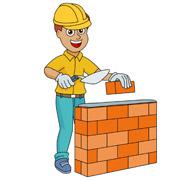 Brick clipart construction brick. Layer panda free images