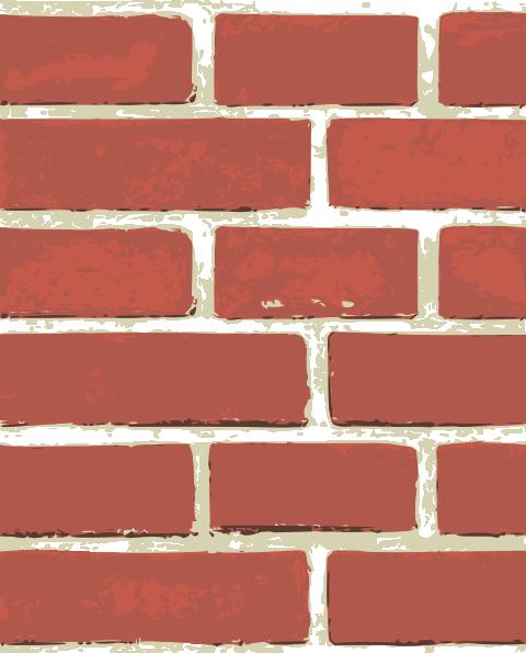 Wall pattern clip art. Brick clipart large
