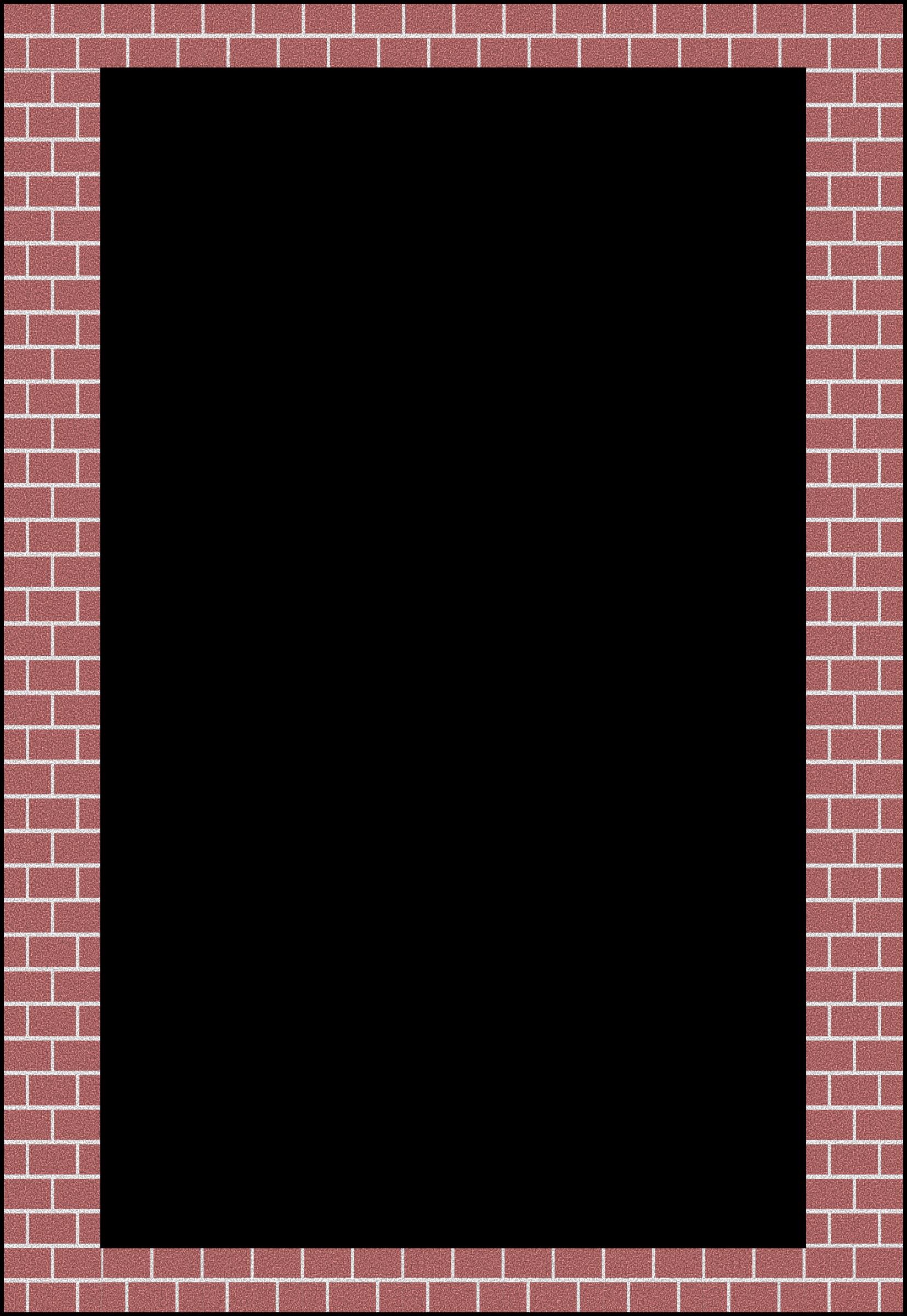 Brick border. Legos clipart frame