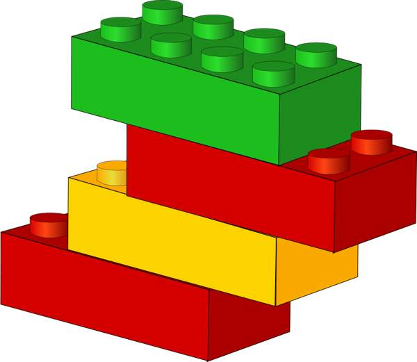 Lego star wars kid. Legos clipart stacked