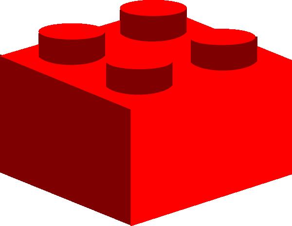 Lego piece . Block clipart vector