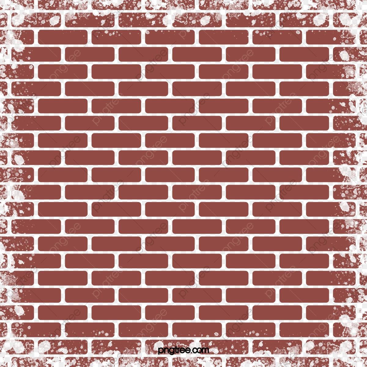 Red wall png transparent. Brick clipart plain
