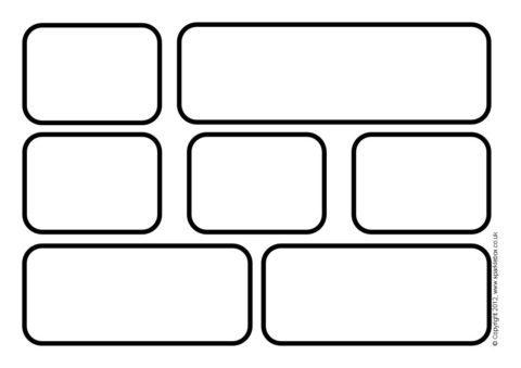 Ks classroom word wall. Brick clipart printable