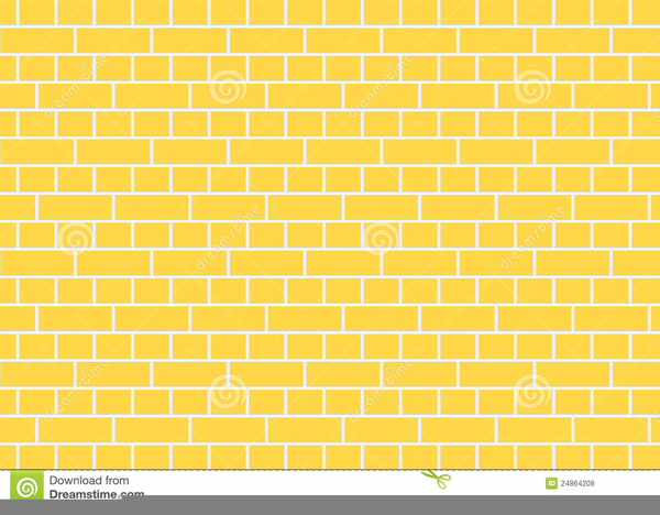 Brick clipart printable. Yellow road free images