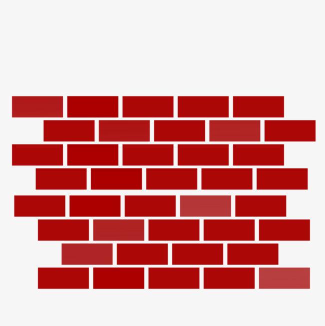 Wall png image and. Brick clipart red brick