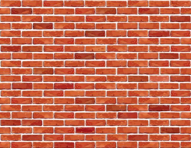Wall png . Brick clipart red brick