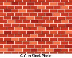 Brick clipart red brick. Wall vector clip art