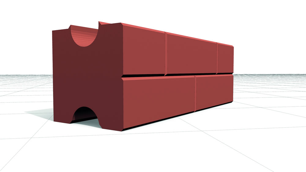 Catalyst innovative building double. Brick clipart single