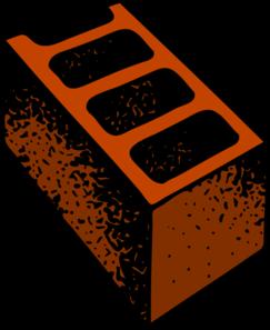 Brick clipart single. Red building clip art