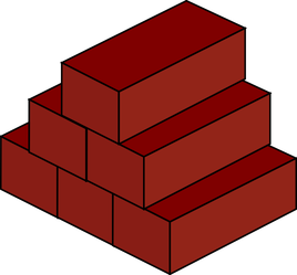 Brick clipart single. Sign on solutions one