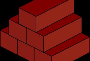 Brick clipart stack brick.  bricks clipartlook