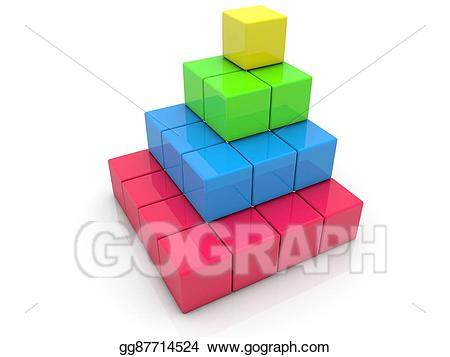 Brick clipart stacked. Toy bricks in corner
