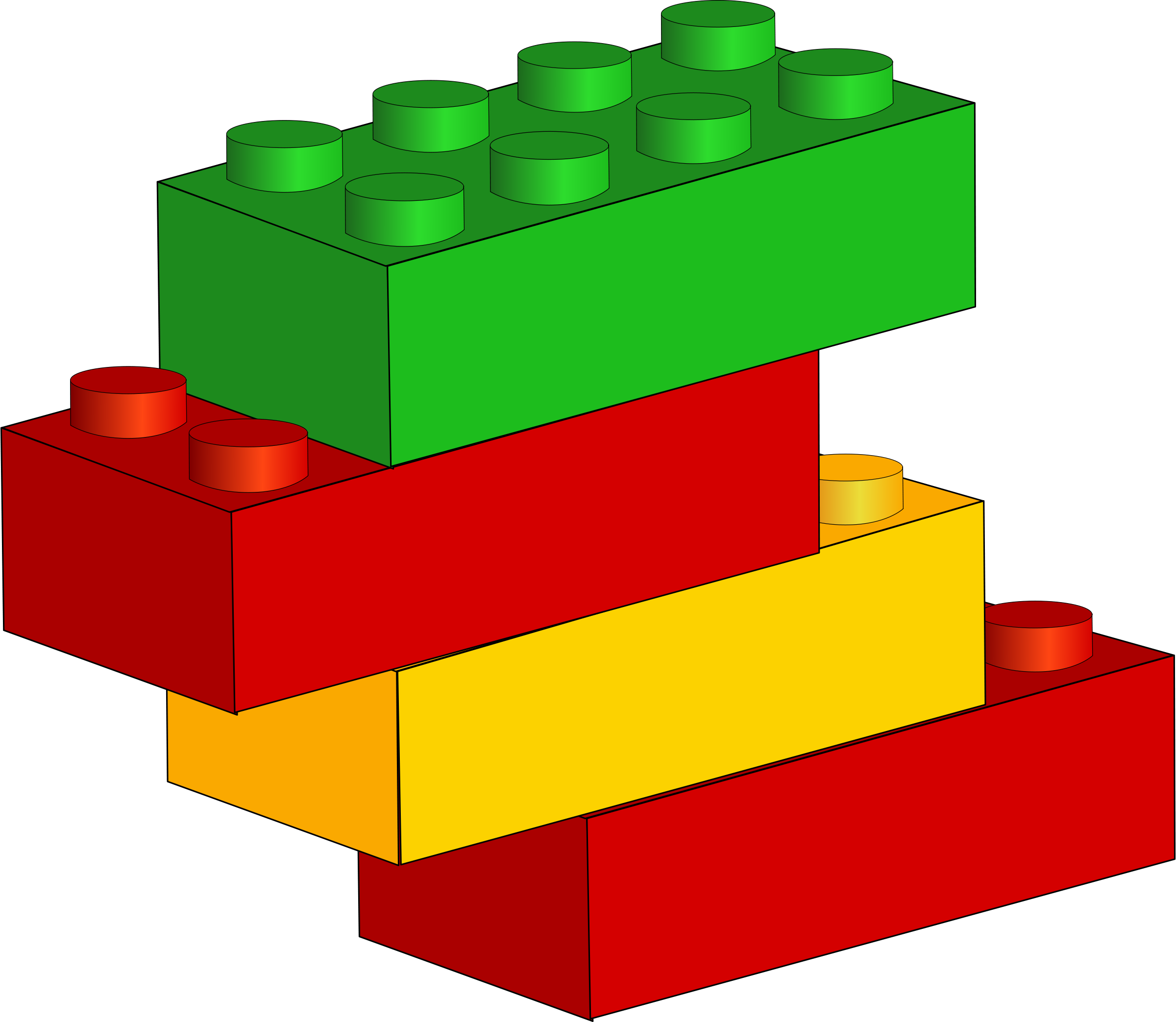 collection of brick. Lego clipart