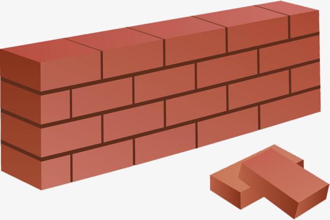 Brick clipart vector. Red quadrel square png
