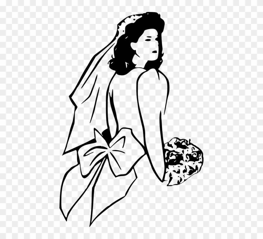 Buy clip art invitation. Bridal clipart