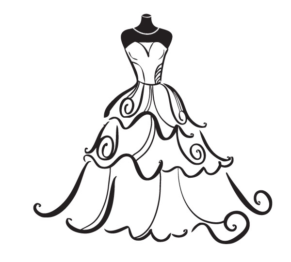 Bridal clipart. Free cliparts download clip