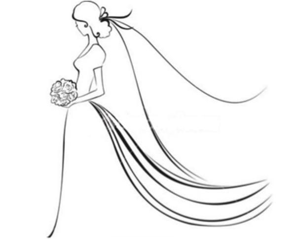 Bridal clipart animated. Free cartoon bride cliparts