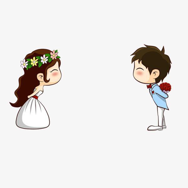 Cartoon sina bride hand. Bridal clipart animated