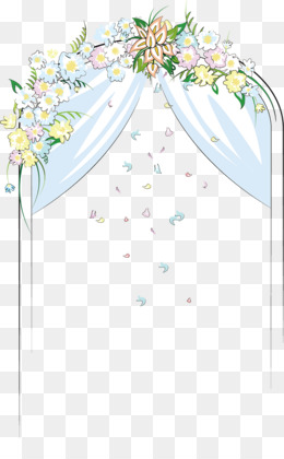 Bridal clipart arch. Wedding png and psd