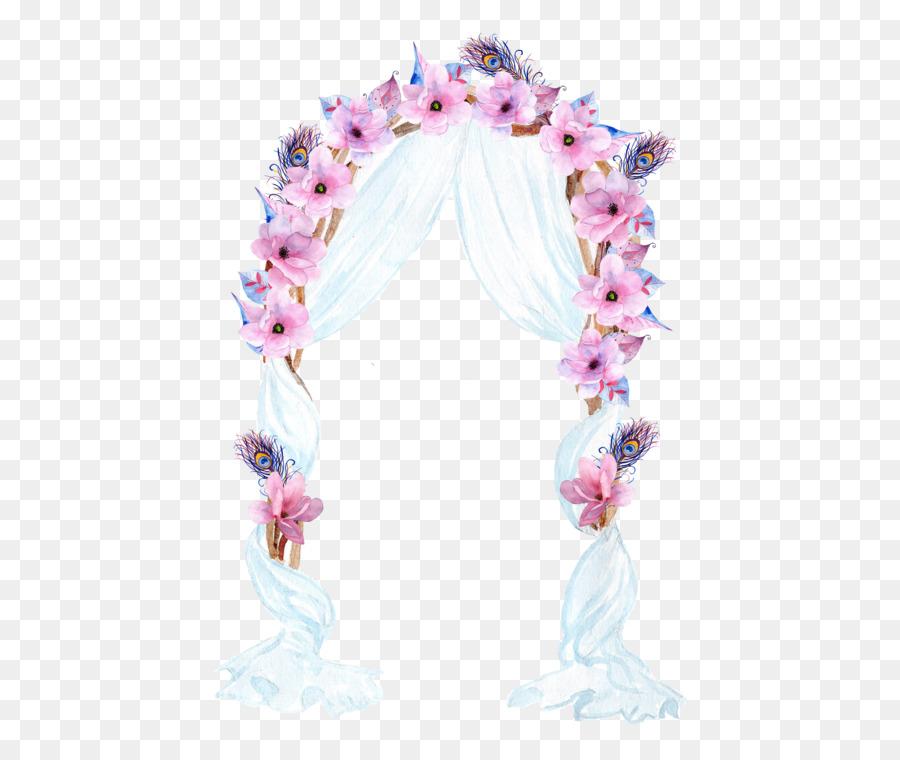 Bridal clipart arch. Wedding clip art flower