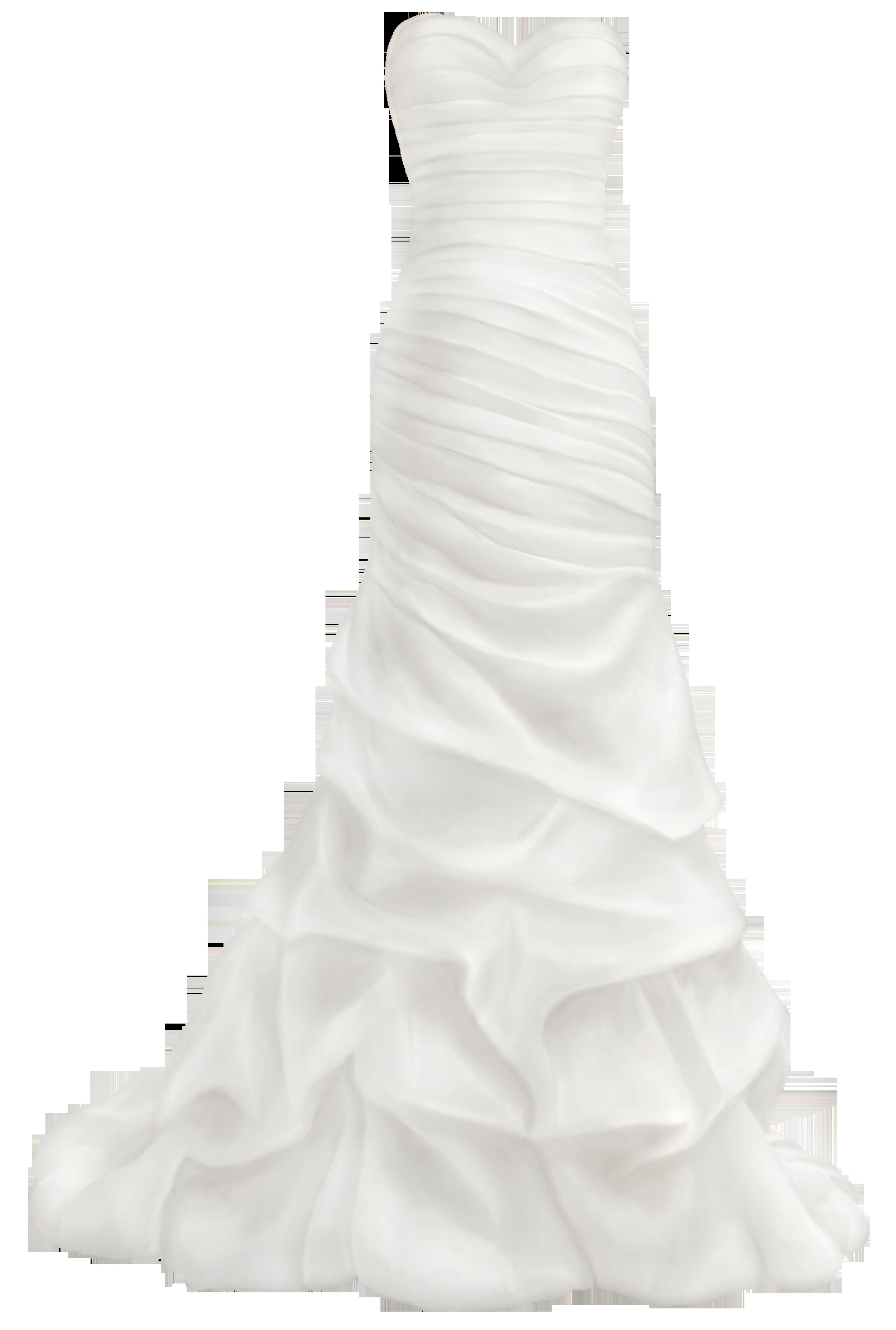Fashion clipart drees. Beautiful wedding dress png
