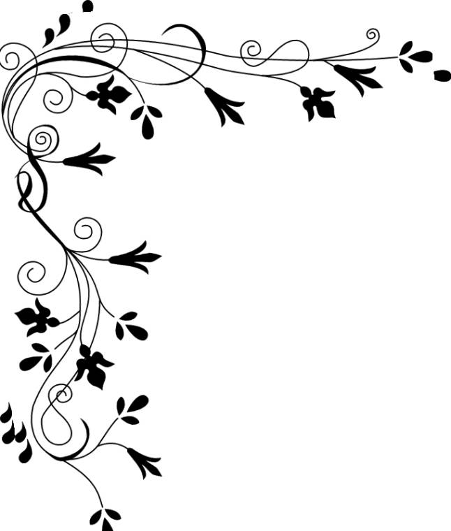collection of borders. Bridal clipart border