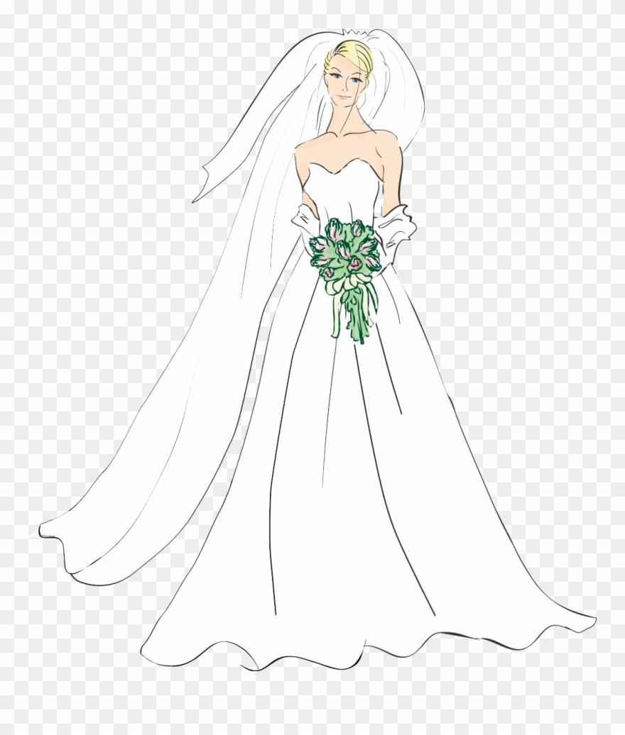 Medium resolution of bridal. Bride clipart wedding