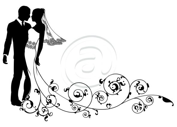 Well suited design and. Bridal clipart bride