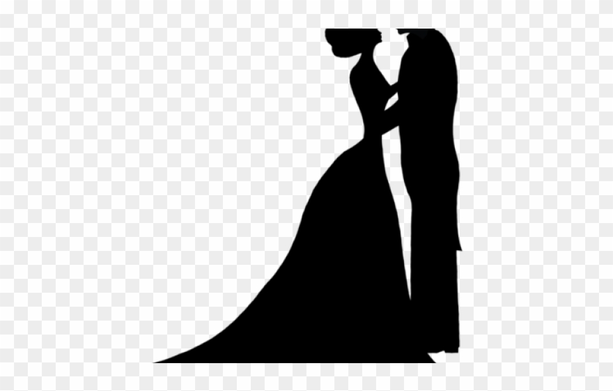 Bridal clipart bride silhouette. Sleeping beauty groom wedding
