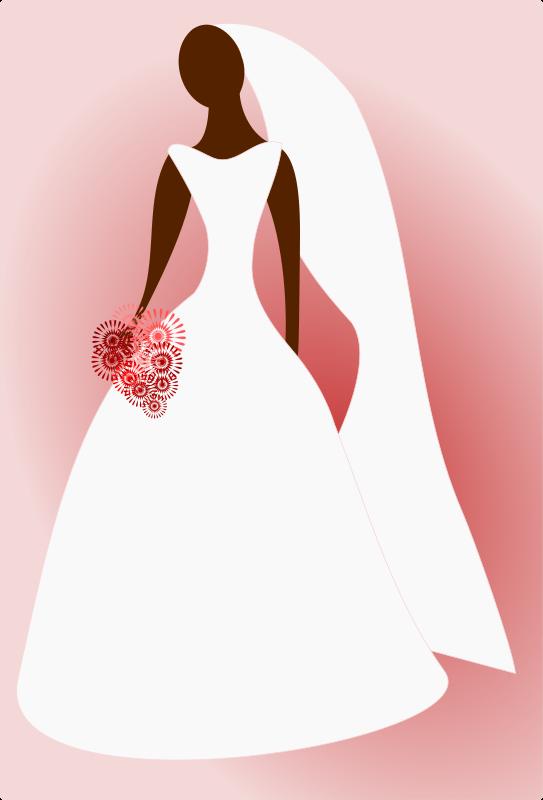 And groom free wedding. Bridal clipart bride
