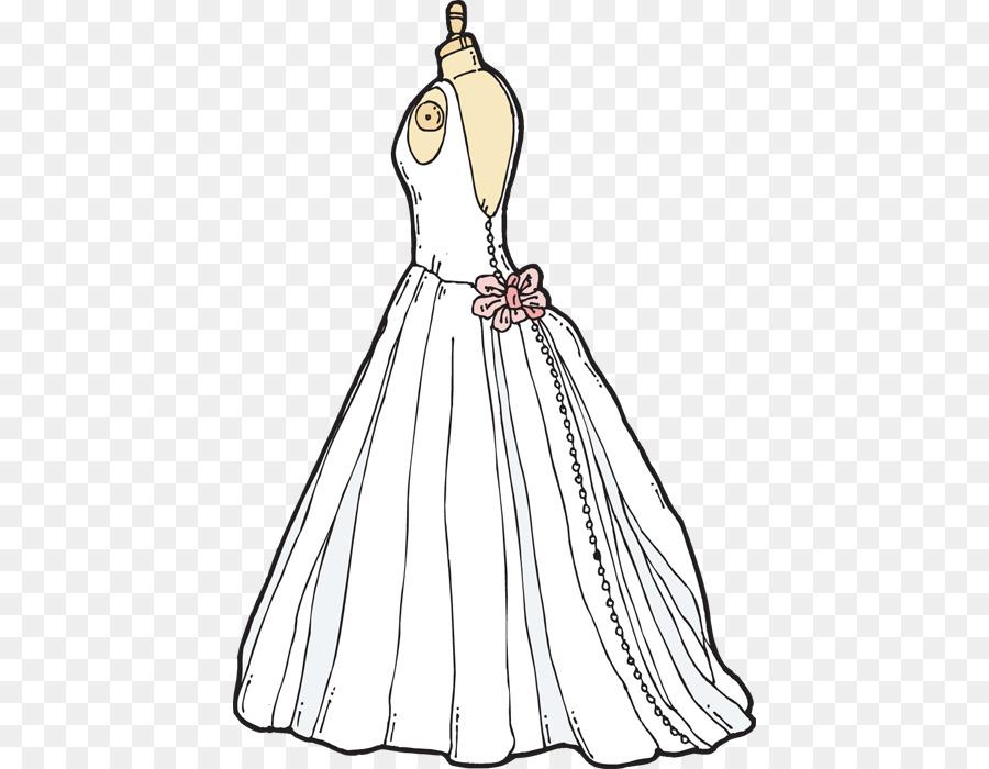 Woman bride transparent . Fashion clipart wedding dress