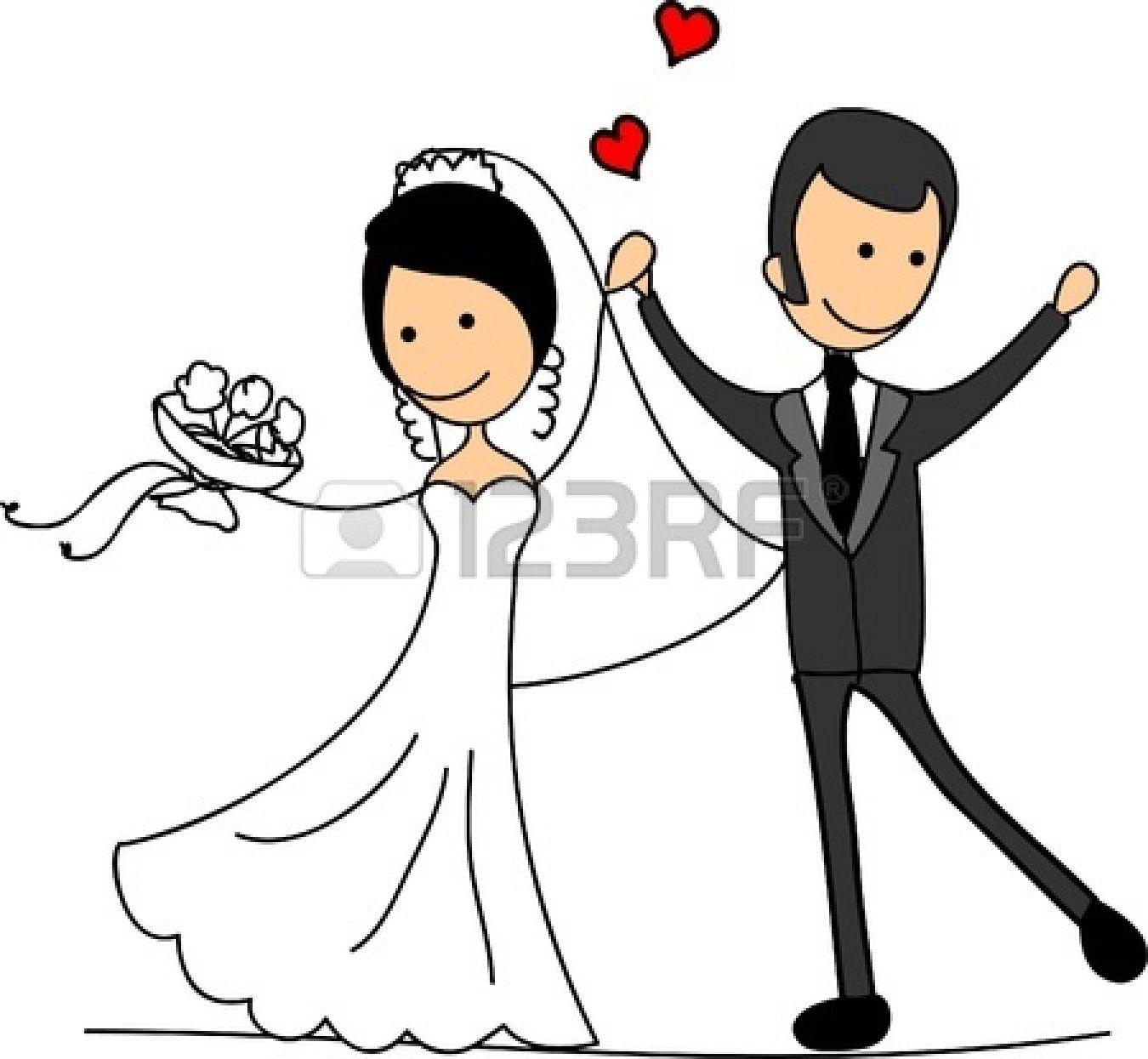 Bridal clipart cartoon. Download happy bride clif