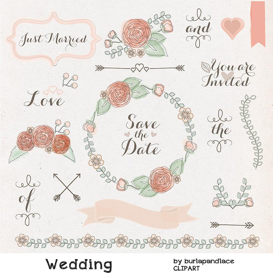 Clipart wedding rustic. Free cliparts download clip