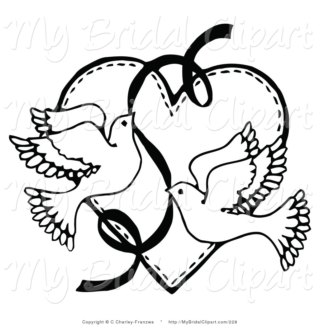 Envelope clipart pagemaker. Bridal of a coloring