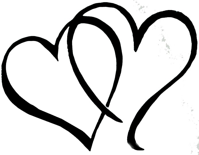 Hearts clipart wedding. Free heart download clip