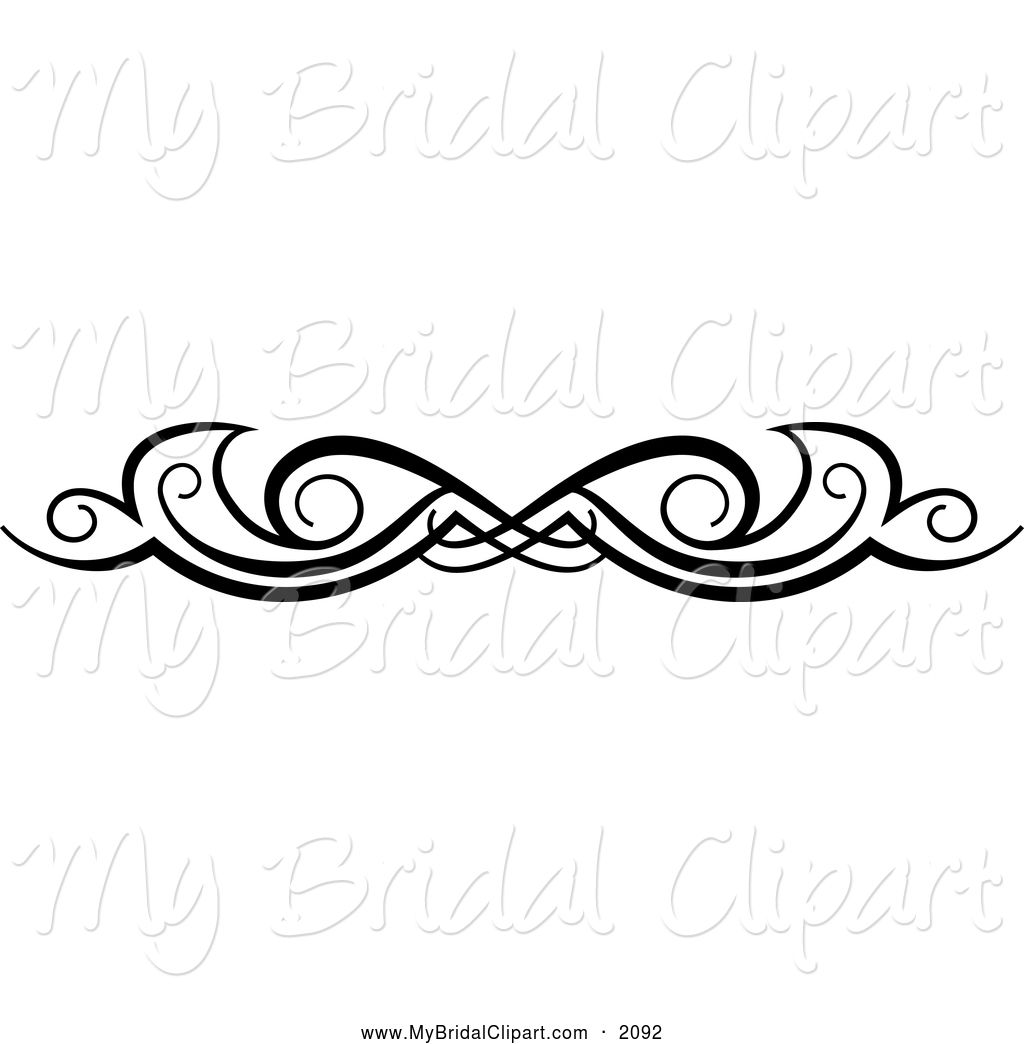 Royalty free clip art. Bridal clipart line