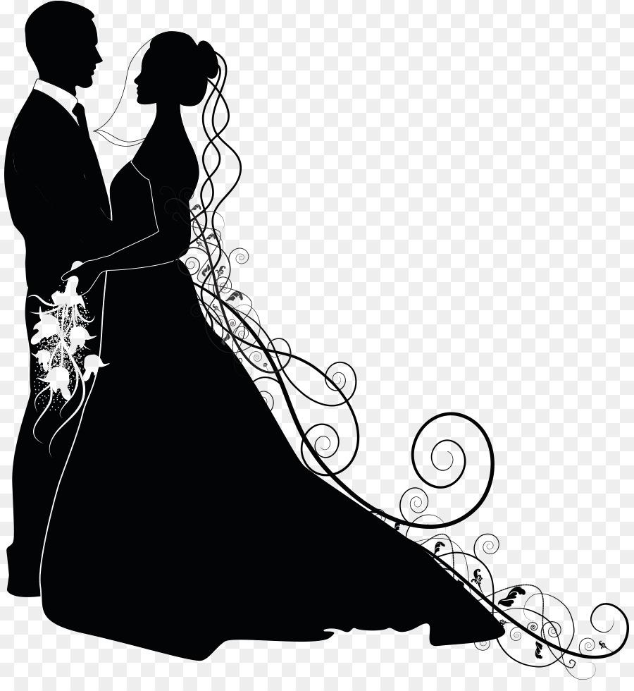Clipart wedding person. Bride and groom cartoon