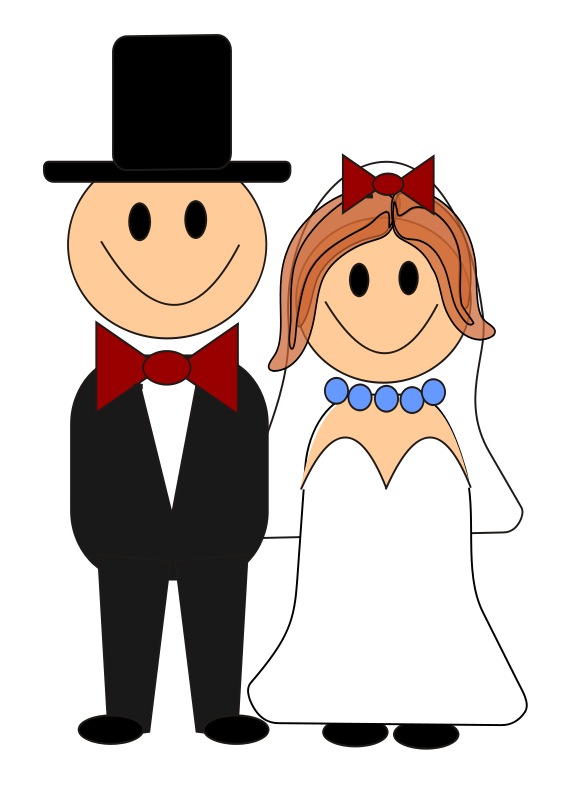Knee clipart grand total. Bride and groom graphics