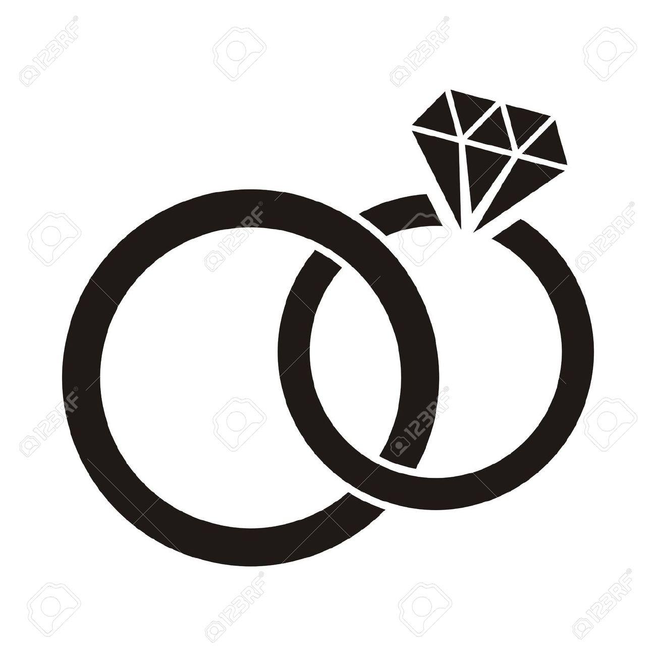 Bridal clipart symbol. Bride silhouette at getdrawings