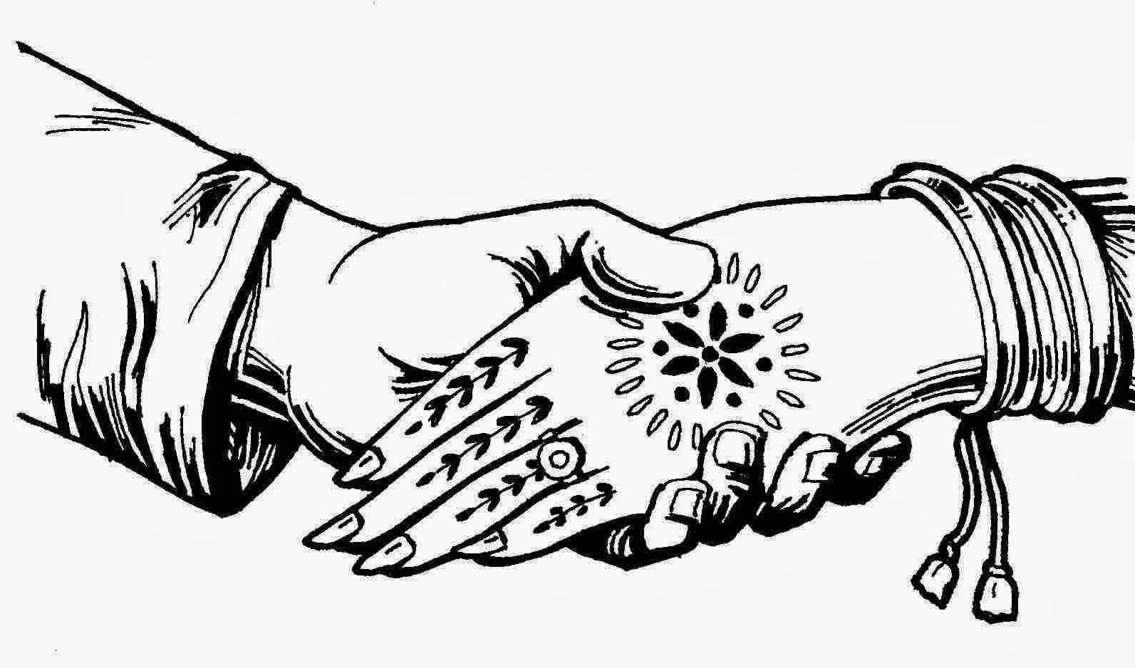 Bridal clipart symbol. Indian wedding symbols fonts